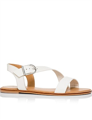 Opal Leather Sandal
