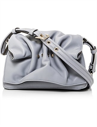 BLOOMY MINI LEATHER SHOULDER BAG