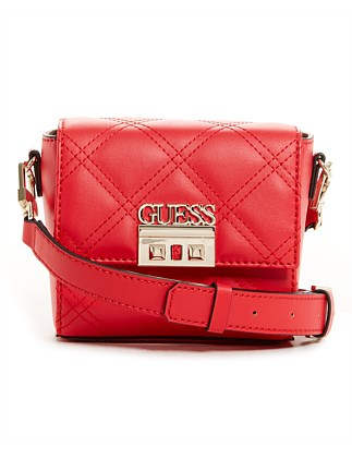 GUESS STATUS MINI XBODY FLAP