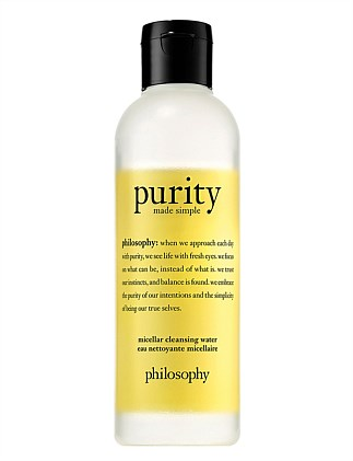purity made simple cleansing micellar water 200mL