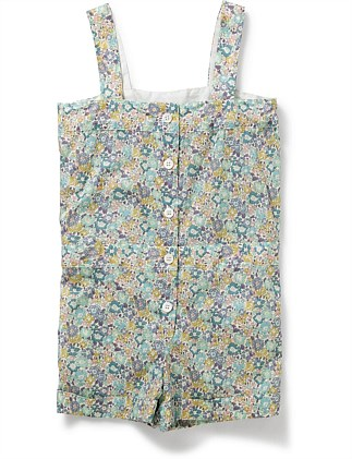 GIRL PRINTED PLAYSUIT(3-6 Years)