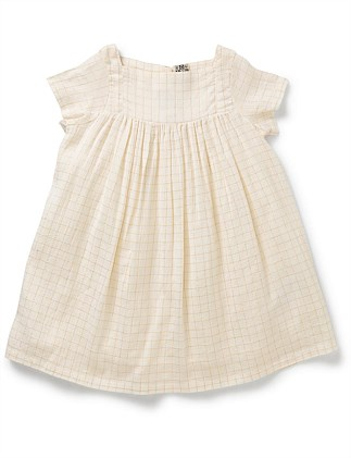 GIRL DRESS GOLDEN LUREX(3-6 Years)