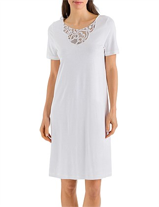 Ella Short Sleeve Nightdress 100Cm