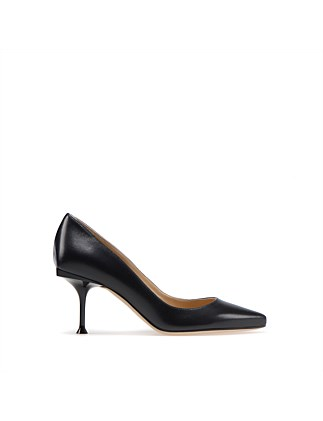 LEATHER SR MILANO PUMP 75MM