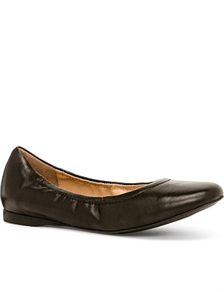cceacee1e Hazel Leather Ballet Flat ...