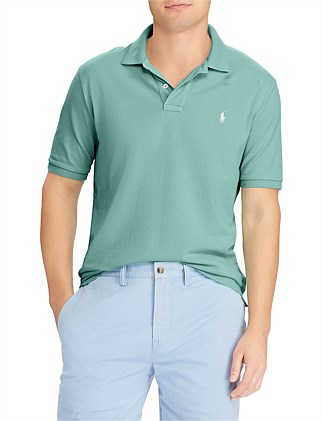Mens Custom Slim Fit Mesh Polo Special Offer. GREEN  RED. Polo Ralph Lauren 1b6394505d90d