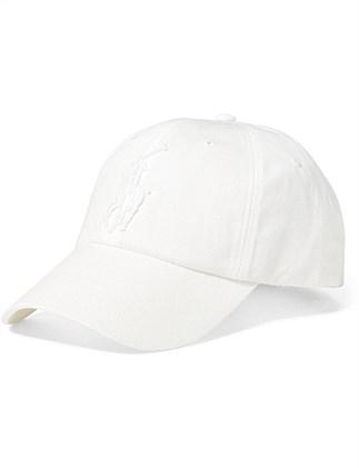 fb48ac241457c Mens Cotton Chino Baseball Cap. Polo Ralph Lauren
