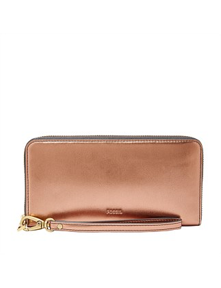 6807628c8f6 Emma RFID Large Zip Clutch