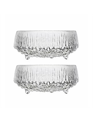 Ultima Thule Bowl 11.5cm Clear Set Of 2