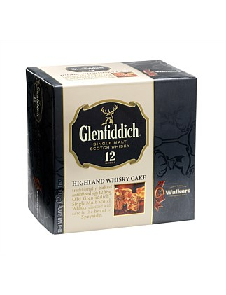 Glenfiddich Highland Whisky Cake 400G