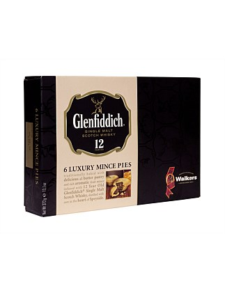 Glenfiddich Whisky Luxury Mince Pies 372G