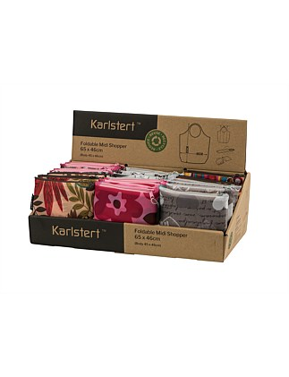KARLSTERT Regular Pocket Foldaway Bag - Asst. Designs