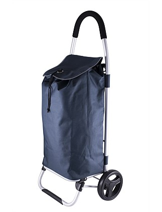 KARLSTERT Aluminium Shopping Trolley - Navy