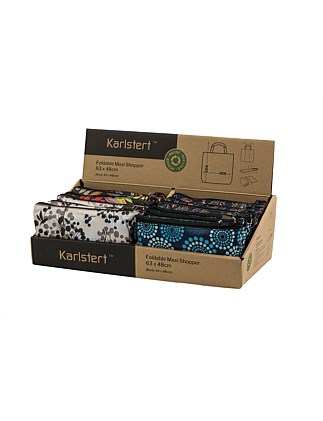 KARLSTERT Maxi Shopper Foldaway Bag - Asst. Designs