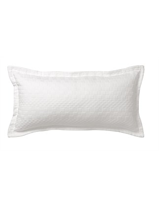 MENZIES WHITE LONG CUSHION