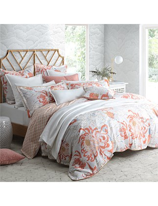 CHELSEA SPICE QUILT COVER SET QUEEN BED