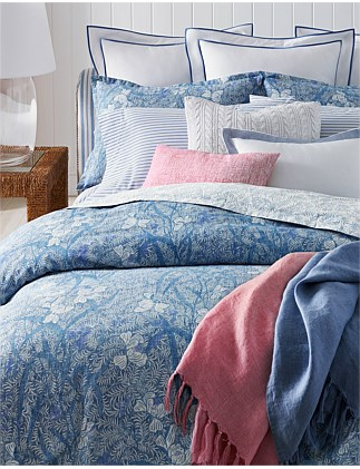 Meadow Lane Kaley Queen Bed Duvet Cover 210x210cm