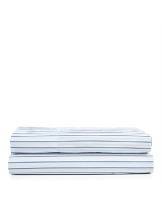 Meadow Lane Brennon Queen Bed Flat Sheet 240x295cm