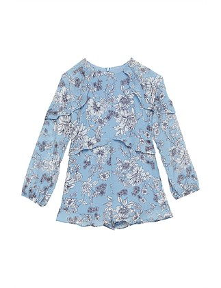 GREATA FLORAL PLAYSUIT