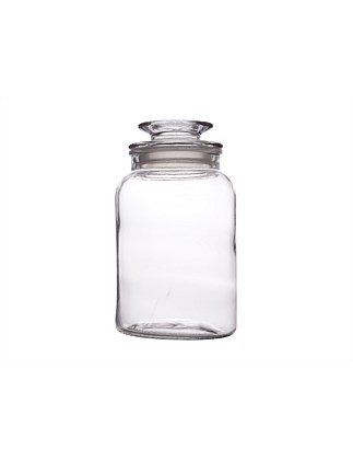 &Maxwell & Williams Galley Glass Canister 1.6L