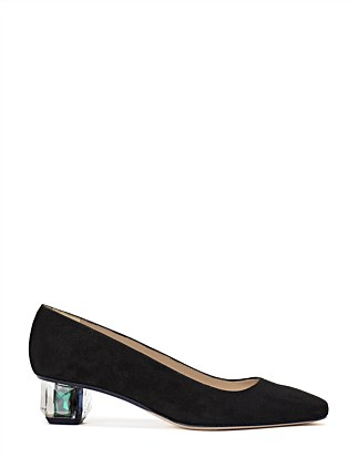 COMET JEWEL HEELED PUMP