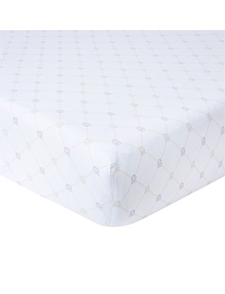 Clematis Double Bed Fitted Sheet 141x200