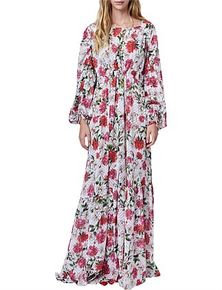 Brydie LongSleeve Maxi Dress