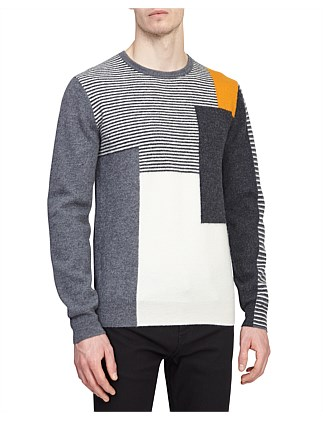 Portland Colour Blocked Jumper