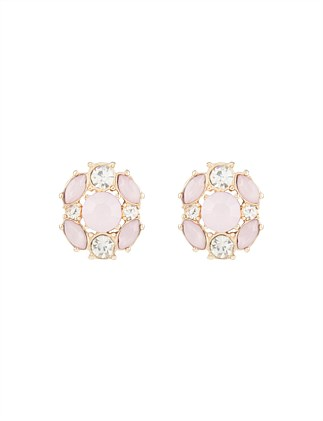 TEA GARDEN STUD EARRING