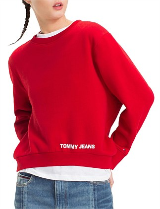 2e4be9ca436cf Tjw Clean Logo Sweatshirt Special Offer. Tommy Hilfiger