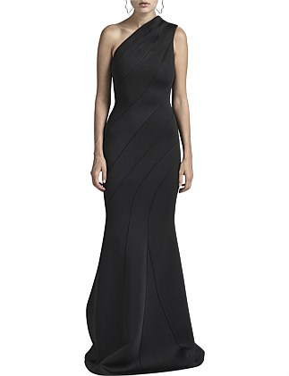 RUMER ONE SHOULDER GOWN