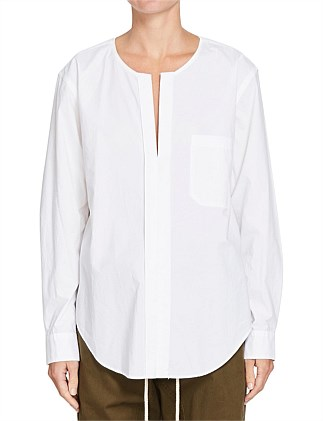 Cotton Reverse Placket Shirt