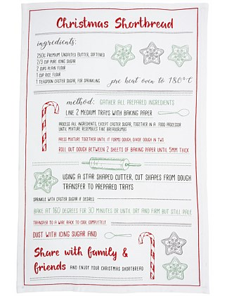 Shortbread Tea Towel