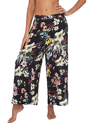 Kyoto Wide Leg Scoop Pant