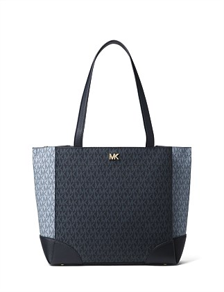 Gala Medium Color-block Logo Tote