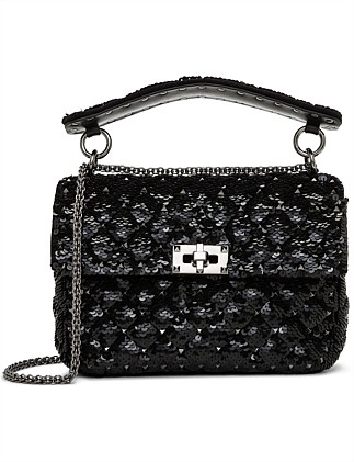 e484a7872def SPIKE MEDIUM LEATHER SHOULDER BAG