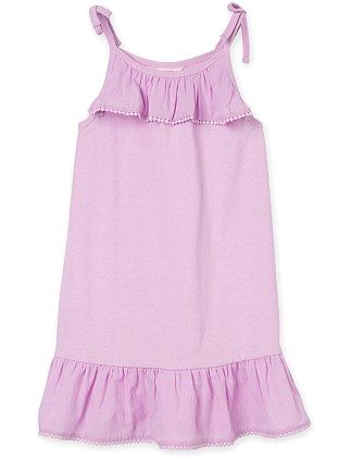Ruffle Trim Nightie