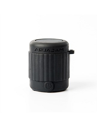 AQUAJAM MINI IPX7 WATERPROOF BLUETOOTH SPEAKER BLACK