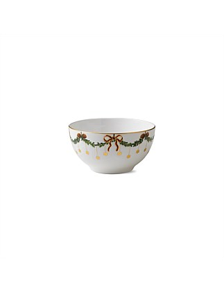Royal Copenhagen Star Fluted Christmas Bowl 1.8L