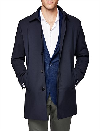 Wellington Cotton Blend Trench Coat