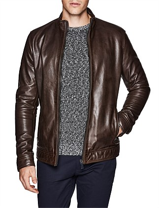 Chopper Luxe Biker Leather Jacket