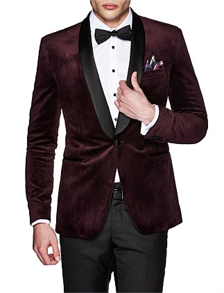 Haig Slim Tailored Velvet Jacket