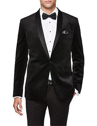 Kensington Slim Tailored Velvet Jacket