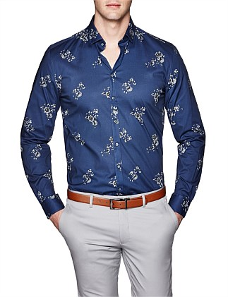 Alban Slim Fit Floral Shirt