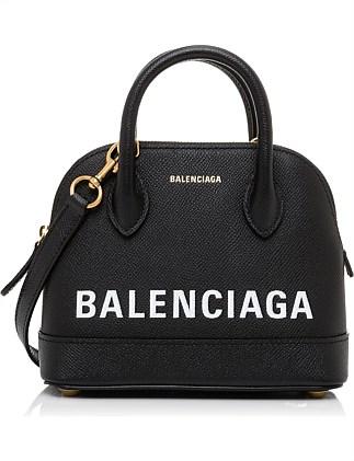 2e0f144ada VILLE GRAFFITI TOP HANDLE BOWLING BAG XXS. Balenciaga
