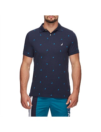 SS PRINTED MARLIN POLO