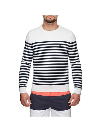 BRETTON STRIPED SWEATER
