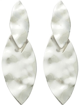 2d6d5e98fdea Textured Double Lead Drop Earring
