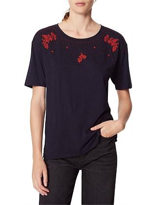 7a6343e366e3 Women's T-Shirts | Designer Tops & T-Shirts Online | David Jones