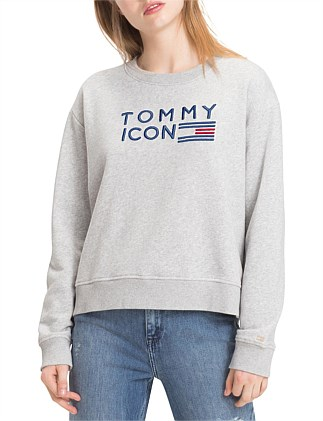 507469496b Tommy Icons Sweatshirt On Sale. Tommy Hilfiger